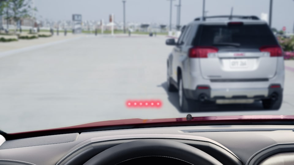 GMC Safety Features: Automatic Braking Signal