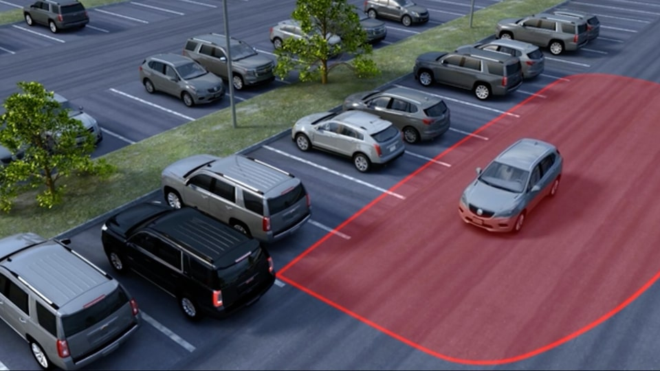Image showing safety features the 2019 GMC Yukon full-size SUV.