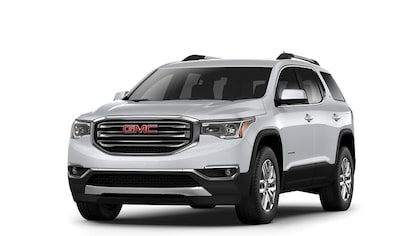 Jellybean image of the 2017 GMC Acadia mid-size SUV.