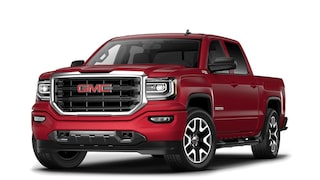 2017 Sierra 1500 All Terrain light-duty pickup truck in crimson red tintcoat.