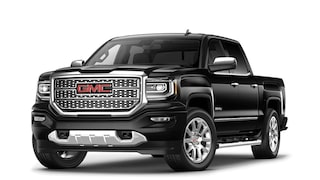 2017 Sierra 1500 Denali light-duty pickup truck in onyx black.
