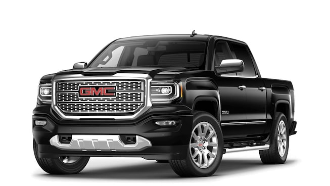 2017 Sierra 1500 Denali in onyx black.