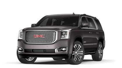 2017 Yukon Denali in iridium metallic.