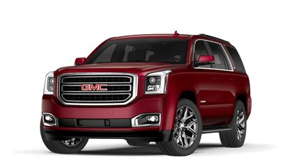 2017 Yukon in crimson red tintcoat.