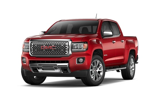 2018 Canyon Denali in red quartz tintcoat.