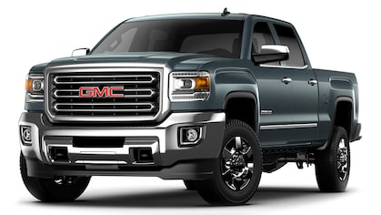 Jellybean image of the 2018 GMC Sierra 2500 heavy-duty pickup truck.