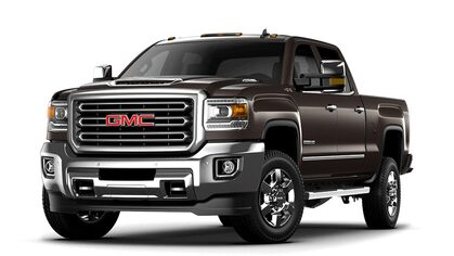 Jellybean image of the 2018 GMC Sierra 3500HD heavy-duty pickup truck.