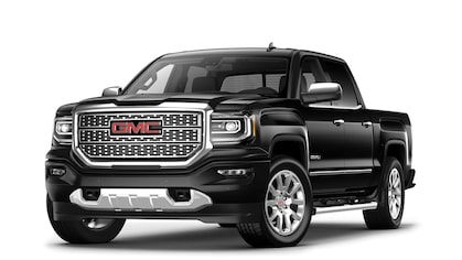 Jellybean image of the 2018 GMC Sierra 1500 Denali light-duty luxury pickup truck.