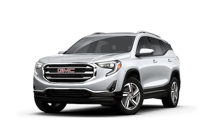 Jellybean image of the 2018 GMC Terrain small SUV.