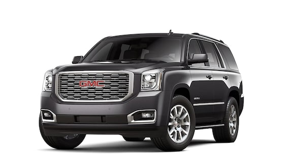 2018 Yukon Denali in iridium metallic.