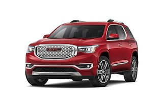 2019 GMC Acadia Denali in Red Quartz Metallic