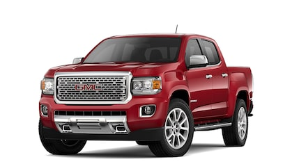 Click to learn more about the 2019 GMC Canyon Denali small luxury pickup truck.