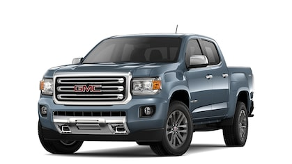 2019 GMC Canyon small pickup truck.