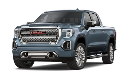2019 GMC Sierra Denali light-duty luxury pickup truck.