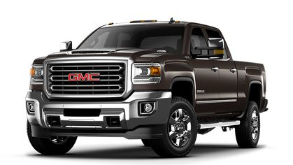 2019 GMC Sierra 3500 HD heavy-duty pickup truck.