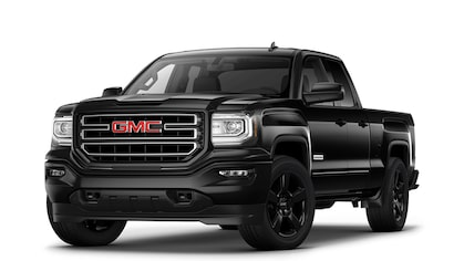 2019 GMC Sierra 1500 Limited light-duty pickup truck.