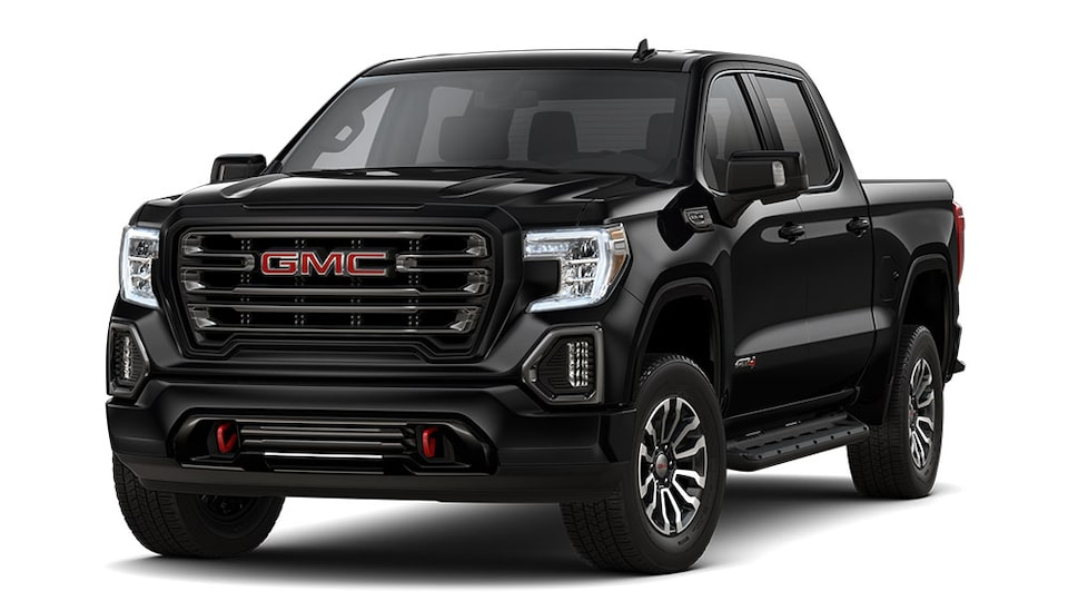 2019 GMC Sierra 1500 AT4 in Black