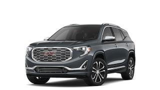 2019 GMC Terrain Denali in Graphite Gray Metallic.