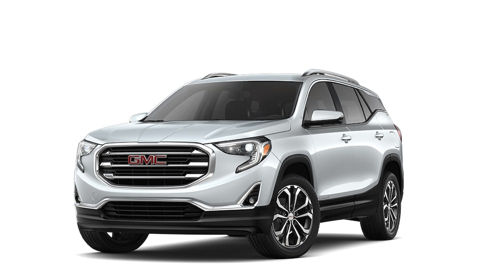 2019 GMC Terrain in Quicksilver Metallic.