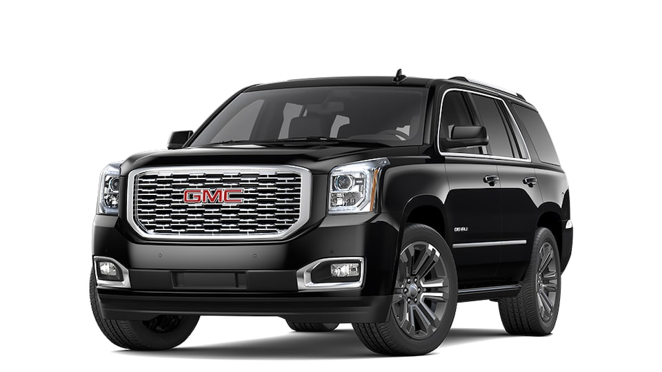 2019 GMC Yukon Denali Full-Size SUV in Onyx Black
