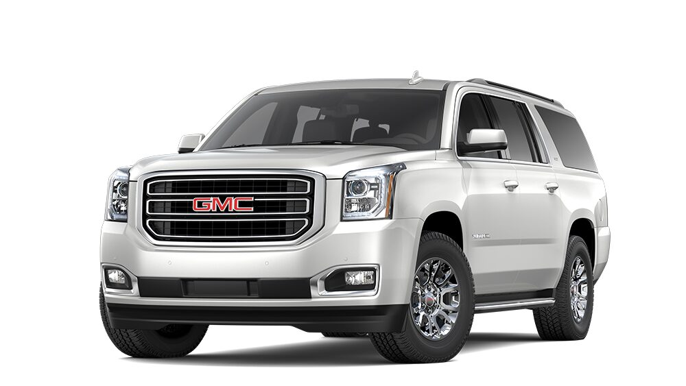 2019 GMC Yukon XL in White Frost Tricoat