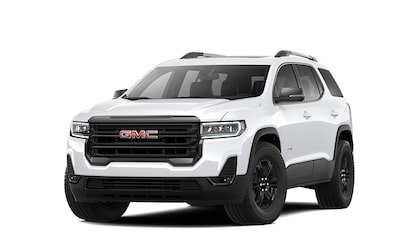 2020 GMC Acadia AT4 Mid-Size SUV in summit white