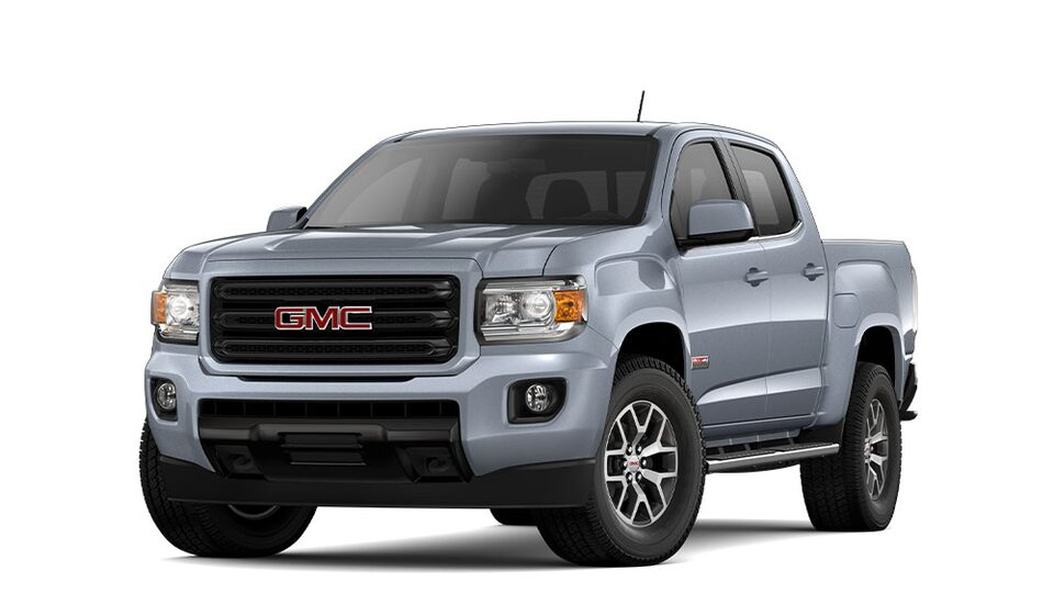 2020 GMC Canyon Small Pickup Truck in Satin Steel Metallic