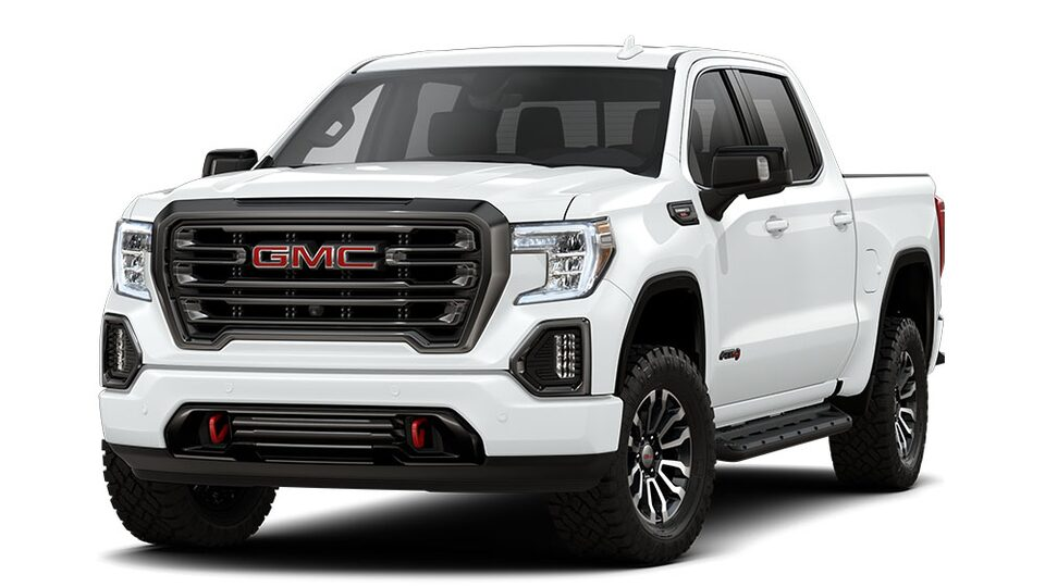 2020 GMC Sierra AT4 Off Road Truck in summit white