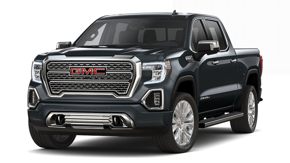 2020 GMC Sierra Denali Luxury Truck in carbon black metallic