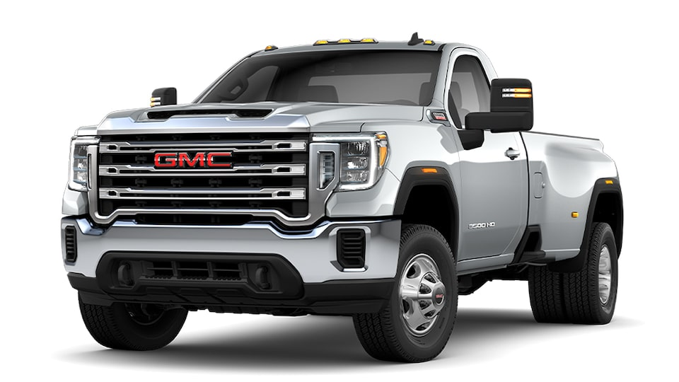 2020 GMC Sierra 3500 HD Quicksilver Metallic Regular Cab Update