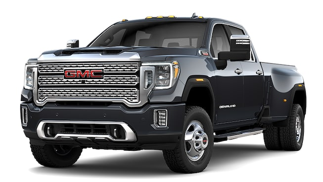 2020 GMC Sierra 3500HD Denali in Carbon Black Metallic