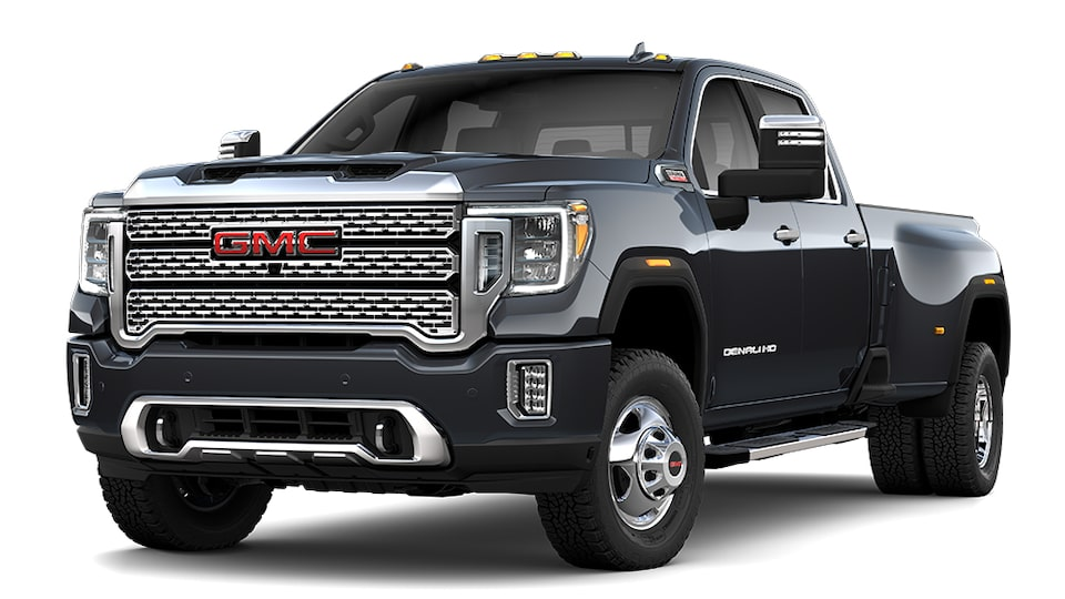 2020 Sierra Denali 3500HD in Carbon Black Metallic