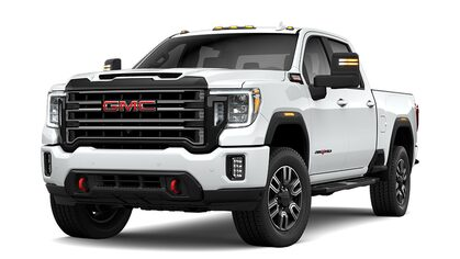 2020 GMC Sierra 2500HD AT4 Heavy Duty Pickup Truck in summit white