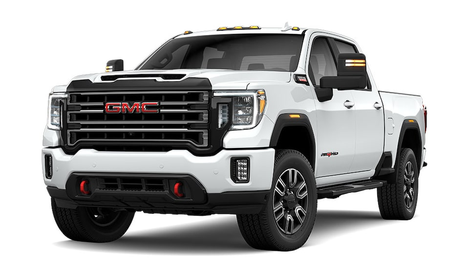 2020 GMC Sierra 2500HD AT4 in Summit White