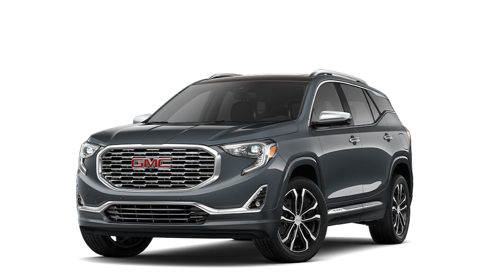 2020 GMC Terrain Denali in Graphite Gray Metallic
