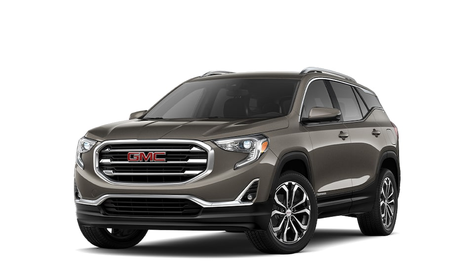 2020 GMC Terrain in Smokey Quartz Metallic