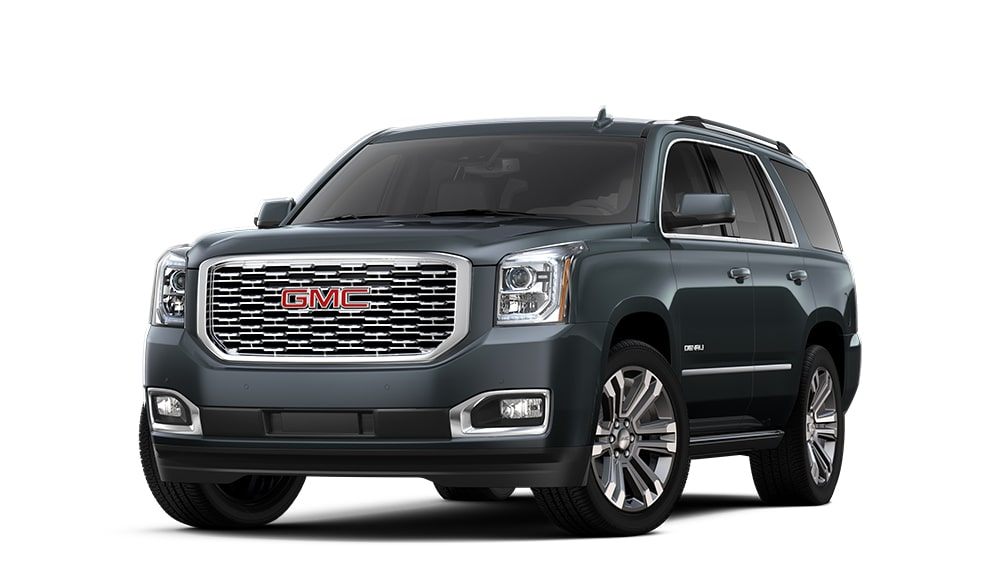2020 GMC Yukon Denali XL carbon black metallic