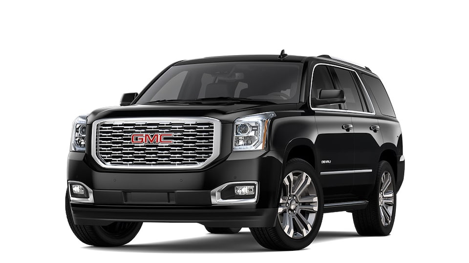 2020 GMC Yukon Denali in Onyx Black Metallic