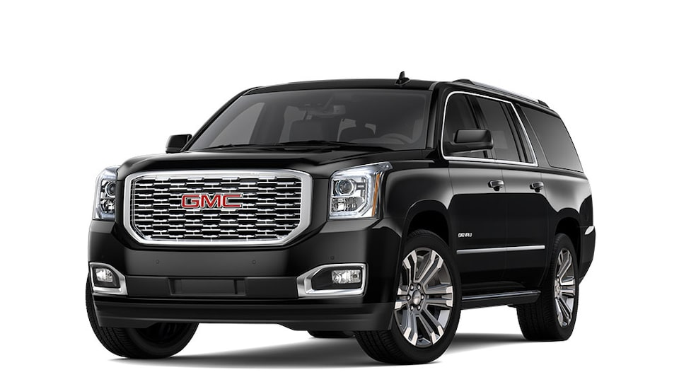 2020 GMC Yukon XL Denali in Onyx Black Metallic