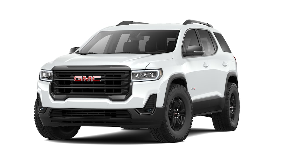 2021 GMC Acadia AT4 Off-road SUV in Summit White