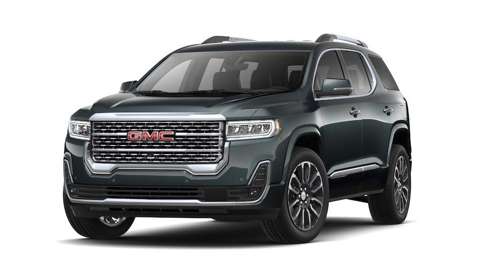2021 GMC Acadia Denali Luxury SUV in Hunter Metallic