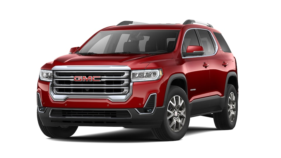 2021 GMC Acadia SLT SUV in Cayenne Red