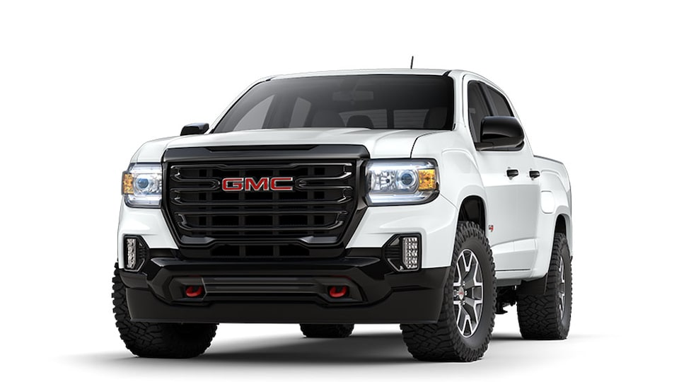 2021 GMC Canyon AT4 in Summit White