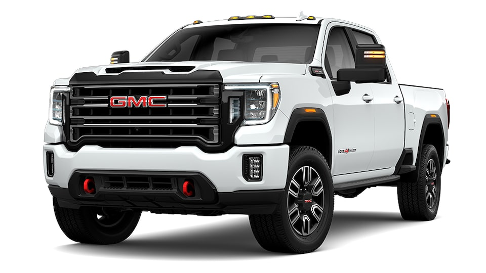 2021 GMC Sierra 2500HD AT4 in Summit White
