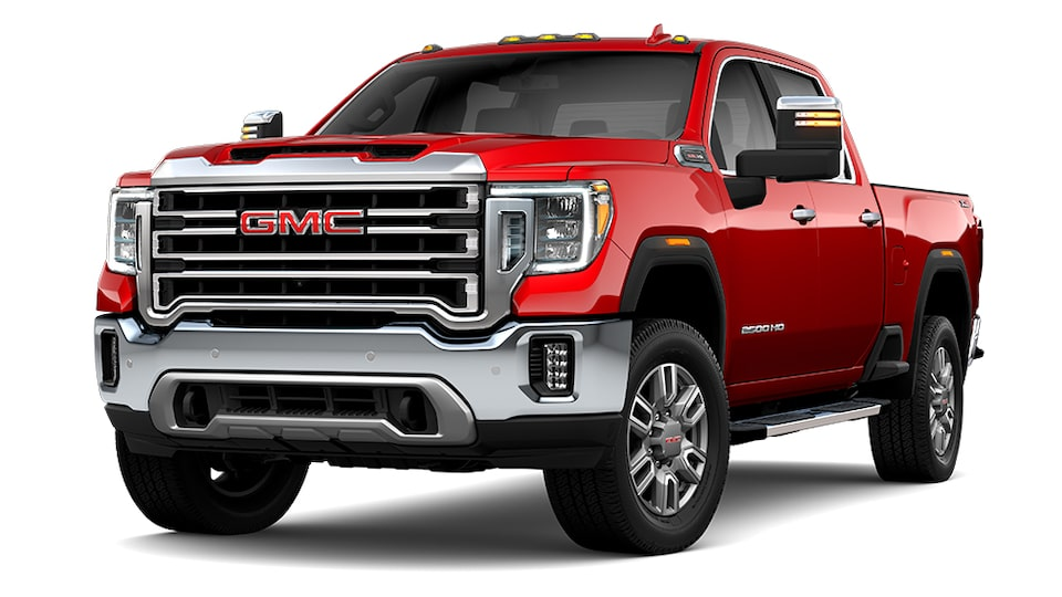 2021 GMC Sierra 2500 in Cayene Red Tintcoat