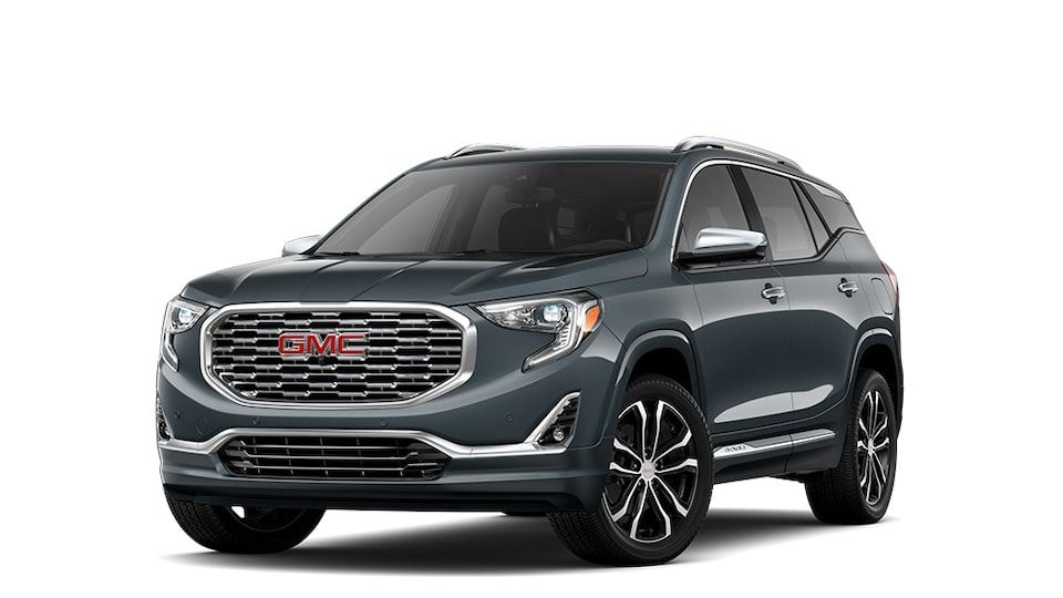 2021 GMC Terrain Denali in Graphite Gray