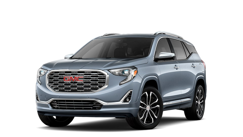 2021 GMC Terrain Small SUV in Graphite Gray Metallic