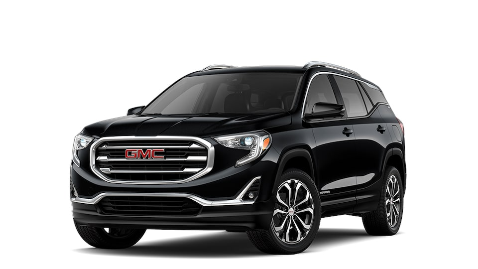 2021 GMC Terrain Small SUV in Ebony Twilight Metallic