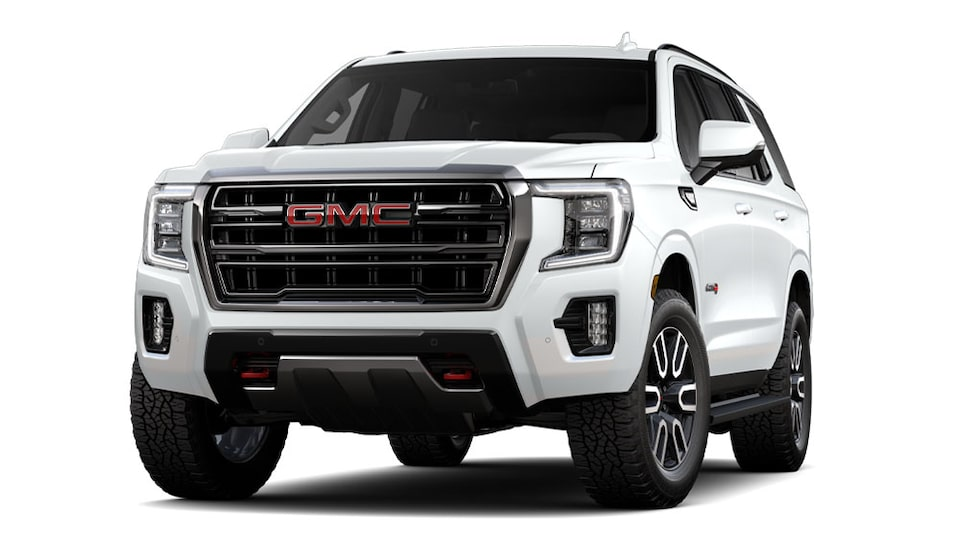 2021 GMC Yukon AT4 Luxury SUV in Summit White