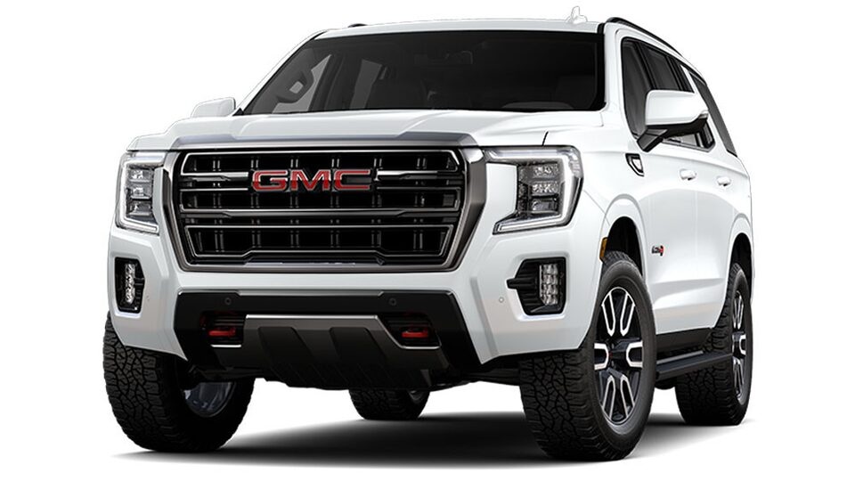 2021 GMC Yukon AT4 Off road SUV in Summit White